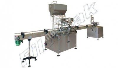 Otomatik Sirke  Limonata  Meyve Suyu Dolum Makinesi