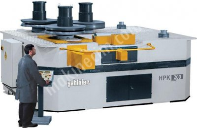 Hidrolik Profil Ve Boru Kıvırma Makinası