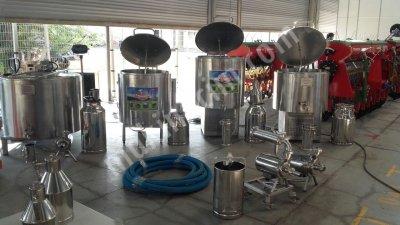Süt Soğutma Tankları Ve Süt İşleme Ekipmanları