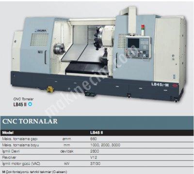 Cnc Yatay Tornalar-Lb45Iı