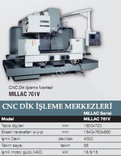 Cnc Tornalama-Mıllac 761 V