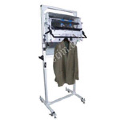 Pnömatik Ayaklı Tip Elbise Ambalajlama Makinası (Üst Kaynaklı)