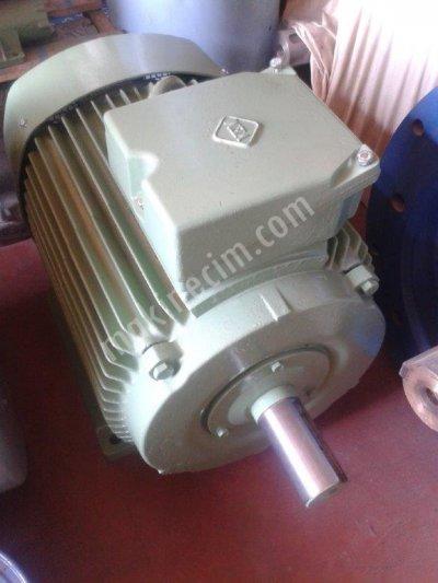 45Kw-980Dk.aman Malı.orjinal Sargı.elektrik Motoru.çok Temiz.