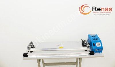 Pedallı Poşet Ağzı Yapıştırma Makinası 60 Cm