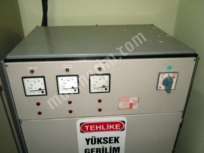 50Kw 3 Faz Servo Kontrollü Voltaj Regülatörü