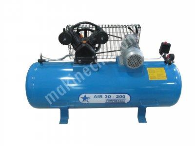 Cleanvac Aır30-200Litre Hava Kompresörü