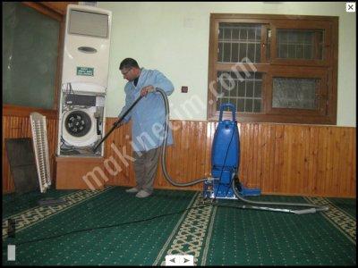 Hamra Fırçalı Süpürge Halı Temizlik Makinası