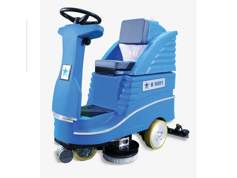 Cordless Hard Floor Cleaning Machine can be caught B9001