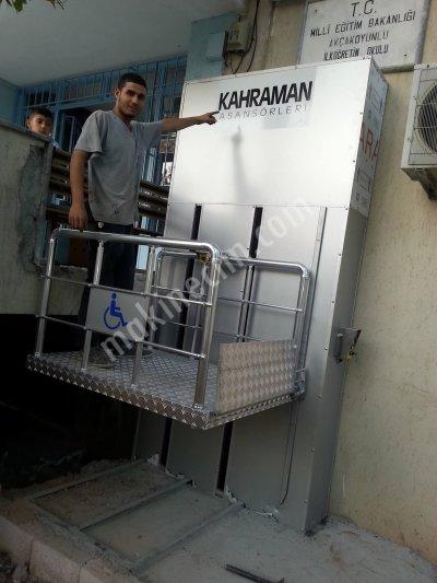 Asansör Kabinleri Yolcu Asansörleri Engelli Asansörleri