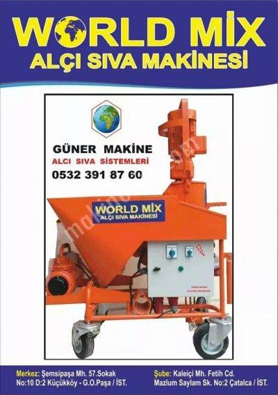 Satılık İkinci El kiralık ve satılık alçı sıva makinaları Fiyatları İstanbul alçı sıva makinası,rotor,stator