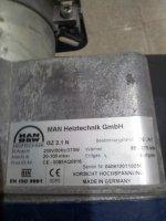 Doğal Gaz Brülörü Gz 2.1 N Kademeli