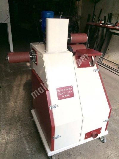 Zımpara Makinesi (Kavisli Parcalar İcin)Otomatik Cif