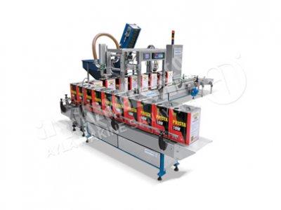 Likit Dolum&kapak Kapama Makinesi(Ekoline)-Ldk 536.1 Lca