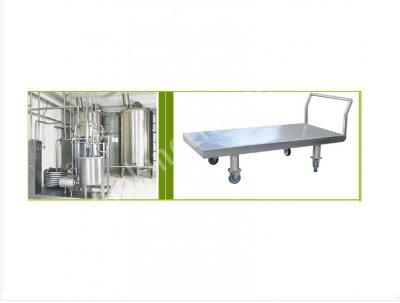 Salamura Sistemi Ve Peynir Taşıma Arabası