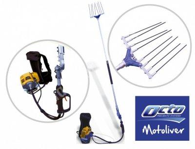 Octo Motoliver Benzinli Taraklı Zeytin Hasat Makinası