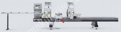 Tam Otomatik Çift Kafa Pvc Ve Alüminyum Kesim Makinesi Ac 1040