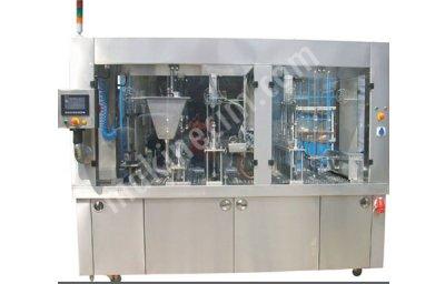 Tam Otomatik Lineer Sistem Dolum Ve Ambalaj Makinası  75 6L Servo