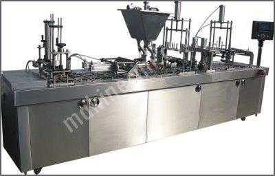 Tam Otomatik Lineer Sistem Dolum Ve Ambalaj Makinası – Çift Dolum Sistemli  95 4L 2F ..