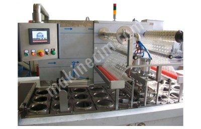 Tam Otomatik Lineer Sistem Dolum Ve Ambalaj Makinası  190 3L Opp