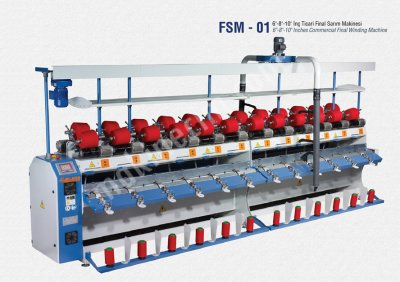 İplik Sarma Gıda Makinaları San. Ve Tic. Ltd. Şti Fsm1