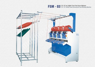 İplik Sarma Gıda Makinaları San. Ve Tic. Ltd. Şti Fsm3