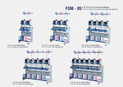 İplik Sarma Gıda Makinaları San. Ve Tic. Ltd. Şti Fsm5