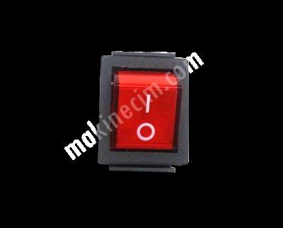 Makine Elektrik Düğmesi