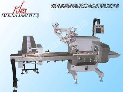Beslemeli Flowpack Paketleme Makinası   Kms 23 90º