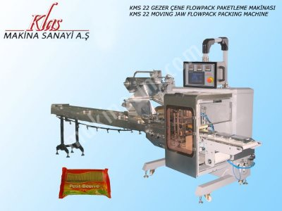 Gezer Çene Flowpack Paketleme Makinası   Kms 22