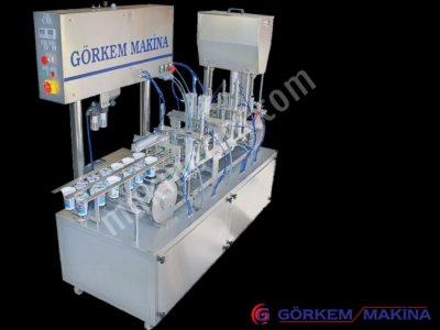 Satılık Sıfır Ayran Dolum Makinası - İkili Su Gm 58/2 Fiyatları İstanbul