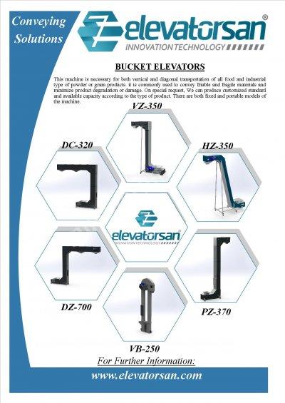 Z Tipi  Kovalı Elevatorler