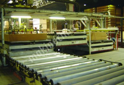 Mdf Film Kaplama Hattı Besleme Platformları 5 Ton