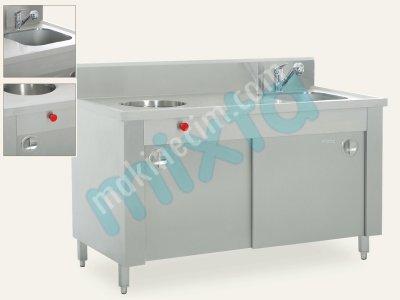 Geri Sıvı Atık Boşaltma Evyesi  Sluice  Model Mse 4400