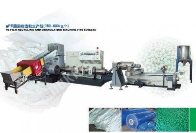 Geri Dönüşüm Makinaları / Yılı / Pe Geri Dönüşüm Ve Granül Makinası