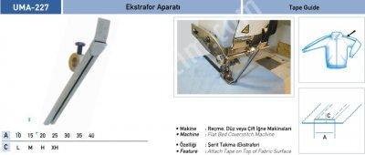 Ev Tekstili Grubu Aparatları Ekstrafor Aparatı Uma 227