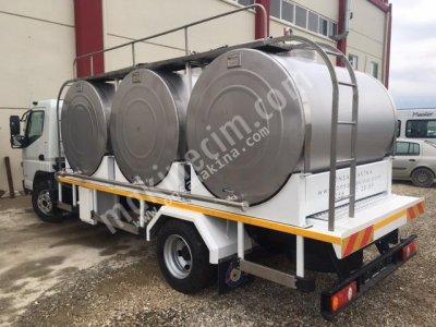 Satılık Sıfır ARAÇ ÜSTÜ TAŞIMA TANKLARI Fiyatları Denizli araç üstü taşıma tankı,nakil tankı,süt nakil tankı,süt taşıma tankı