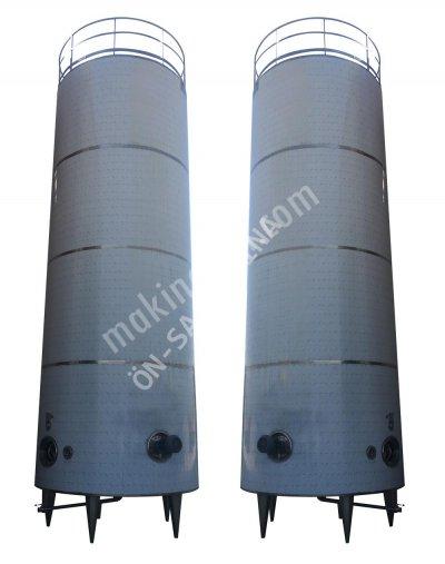 Satılık Sıfır Süt Stok Tankları Fiyatları Denizli süt stok tankı,depolama tankı,stok tankı,paslanmaz tank,izoleli depolama tankı