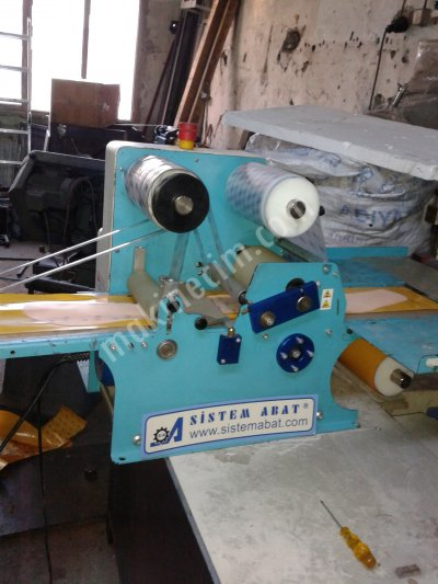 Ayakabı  Mostura Yapıştırma  Makinası