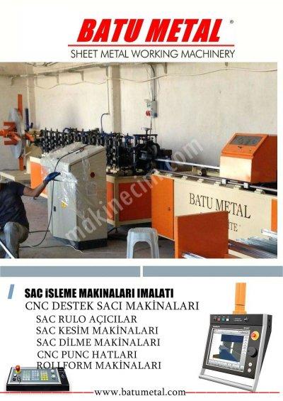 Destek Sacı Makinası Ve Çeşitleri Batu Metalde