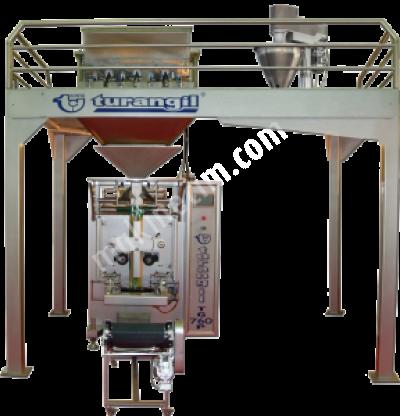 Satılık Sıfır Turangil Tg760p Terazili Vidalı Çift Sistem Toz Granül Ürünler Dikey Paketleme Makinesi Fiyatları Konya turangil,paketleme,ambalaj,makine,dikey,dolum,dikey paketleme,konya,turangil makine,turangil makina
