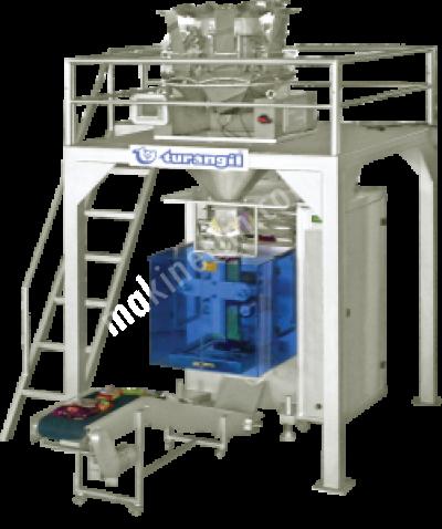 Satılık Sıfır Çoklu Terazili Sistem Paketleme Makinesi TG 600 P Fiyatları Konya turangil,paketleme,ambalaj,terazili,bakliyat,tuz,hububat,toz şeker