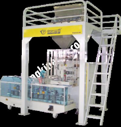 Terazili Sistem Full Kare Paketleme Makinesi Tg 580 P