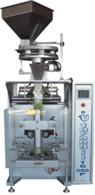 Turangil Tg380P Tam Otomatik Volimetrik Sistem Akışkan Taneli Ürünler Dikey Paketleme Makinesi