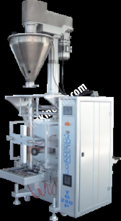 Turangil Tg280P Tam Otomatik Vidalı Sistem Toz Ürünler Dikey Paketleme Makinesi