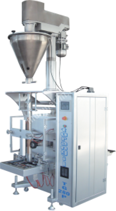 Satılık Sıfır Turangil Tg280p Tam Otomatik Vidalı Sistem Toz Ürünler Dikey Paketleme Makinesi Fiyatları İstanbul un,irmik,nişasta,pulbiber,kimyon,kahve,baharat,paketleme,dikey paketleme,otomatik paketleme,turangil,konya