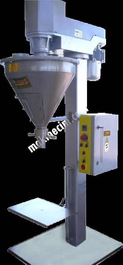 Satılık Sıfır Turangil Tg160d Yarı Otomatik Vidalı Sistem Toz Ürünler Dikey Dolum Makinesi Fiyatları İstanbul un,nişasta,irmik,kahve,pudra,toz,baharat,çuval,torba,dolum,tartım,terazili dolum,turangil,turangil makina,turangil paketleme ambalaj