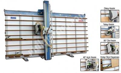 Dikey Panel Ebatlama Makinası Kk.1