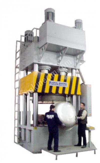 Hidrolik Derin Çekme Presi  Hdçp  1000/400 Ton