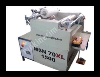Streç Ve Alüminyum Folyo Sarma Makinesi Msn 70 Xl 1500