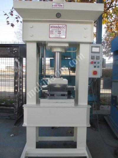 Hydraulic Press ..100 Ton Otamatik  Gaz Atmalı Sıcak Pres